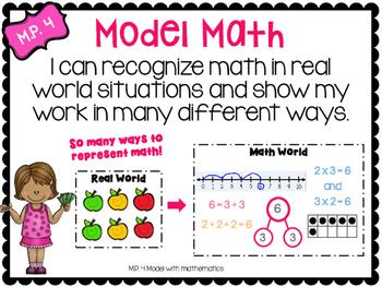 Common Core Math Practice Posters