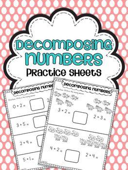 Common Core Math Practice Sheets