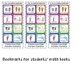 Common Core Math Practice Standards for K-2