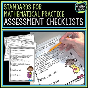 Common Core Math Practice Standards Self Assessment Checklists