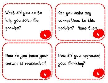 Common Core Math Practice Task Cards- Grades K-3