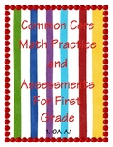 Common Core Math Practice and Assessment For First Grade 1.0A.A1
