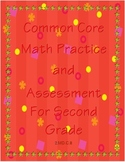 Common Core Math Practice and Assessment For Second Grade 2.MD.C.8  - Money