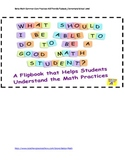 Common Core Math Practices Flipbook for Elementary School