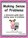 """Common Core Math Practices-Problem-Solving: """"Making Sense"""""""