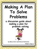 "Common Core Math Practices-Problem-Solving: ""Making a Plan"