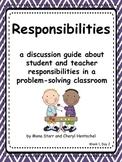 """Common Core Math Practices-Problem-Solving: """"Responsibilit"""