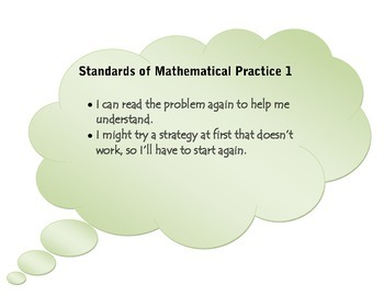 Common Core Math Practices in Kid Friendly Language