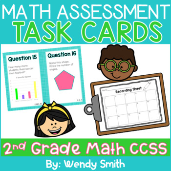 Common Core Math Pre-Assessment for 3rd Grade