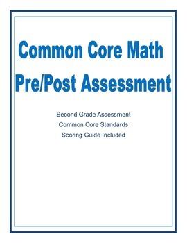 Common Core Math Pre/Post Assessment