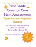 Common Core Math Pre- and Post-assessments for Operations and Algebraic Thinking