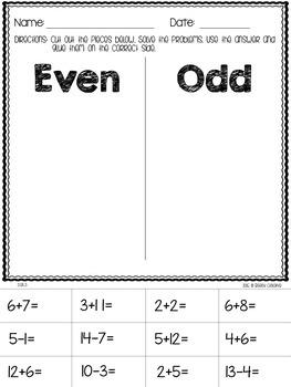 Common Core Math Printables fo Second Grade