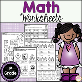 Math Worksheets First Grade