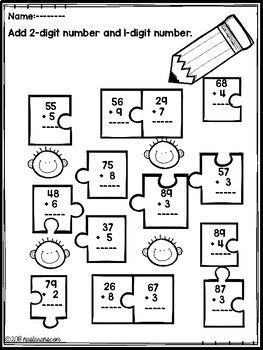 Math Worksheets First Grade