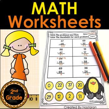Common Core Math Printables Second Grade