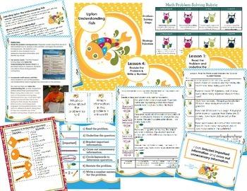 Math Intervention Problem-Solving Unit {Upton Understanding Fish}