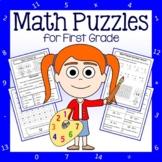 Math Puzzles - 1st Grade Common Core
