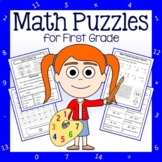 Math Puzzles - 1st Grade Common Core