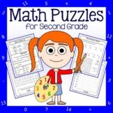 Math Puzzles - 2nd Grade Common Core