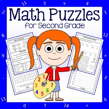 Math Puzzles - 2nd Grade Common Core