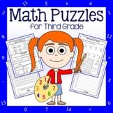 Math Puzzles - 3rd Grade Common Core