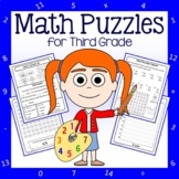 Math Puzzles - 3rd Grade Common Core