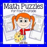 Math Puzzles - 4th Grade Common Core
