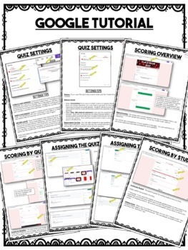 5th Grade Math Quiz Bundle
