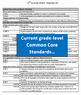 Common Core Math Reference and Checkoff Sheets - 5th Grade