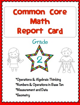 2nd Grade Common Core Math Report Card