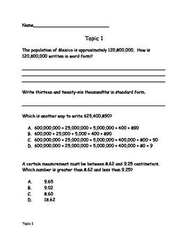 Common Core Math Resource