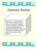 Common Core Math Review Activity