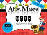 Common Core Math Review Board Game (Fourth Grade)