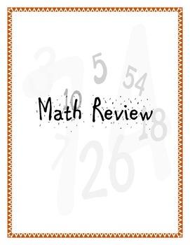 Common Core Math Review - Four Domains