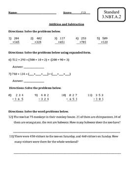 Common Core Math Review-Grade 3