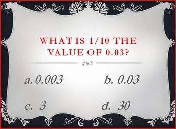 Common Core Math Review PPT for units 1-3 in 5th grade!