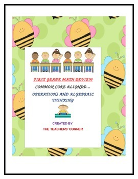 Common Core Math Review for Grade One: Operations and Algebraic Thinking