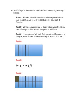 Common Core Math Review/Assessment for Fifth Grade #2