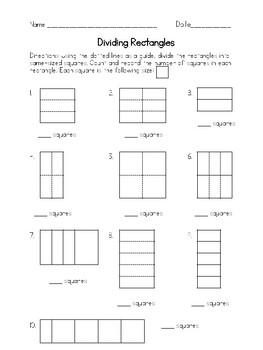 Common Core Math - Second Grade Geometry 2.G.A.2