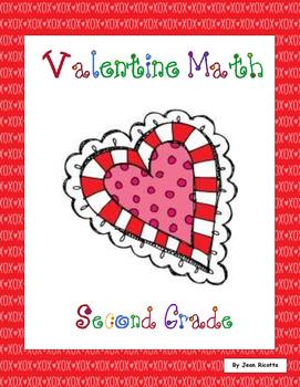 Valentine Math - Second Grade