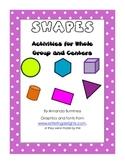 Common Core Math - Shapes Unit