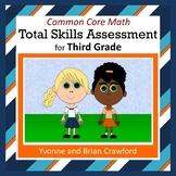 No Prep Math Assessment (3rd Grade Common Core)