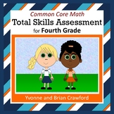 No Prep Math Assessment (4th Grade Common Core)