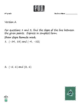 Common Core Math: Slopes, Unit Rates and Proportional Relationships