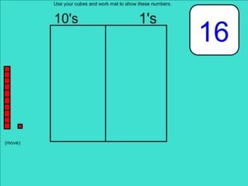 Common Core Math: Smartboard Place Value/Teen Numbers