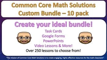 Wrestle with Math – Custom Bundle 10 Pack! (Save 25%!)