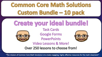 Wrestle with Math – Custom Bundle 10 Pack! (Save 25%!)