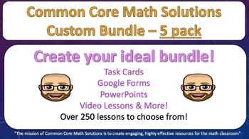 Wrestle with Math – Custom Bundle 5 Pack! (Save 20%!)