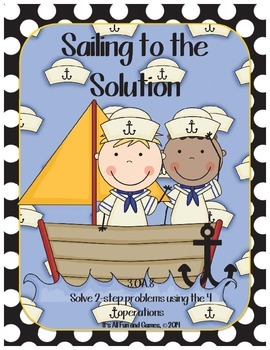 Solve 2-Step Word Problems Game
