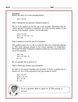 Common Core Math: Solving Inequalities - Tutorial and Practice